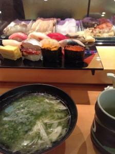 ランチはちょっと奮発してお寿司