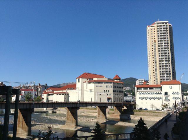 10月18日 宝塚大橋からの眺め